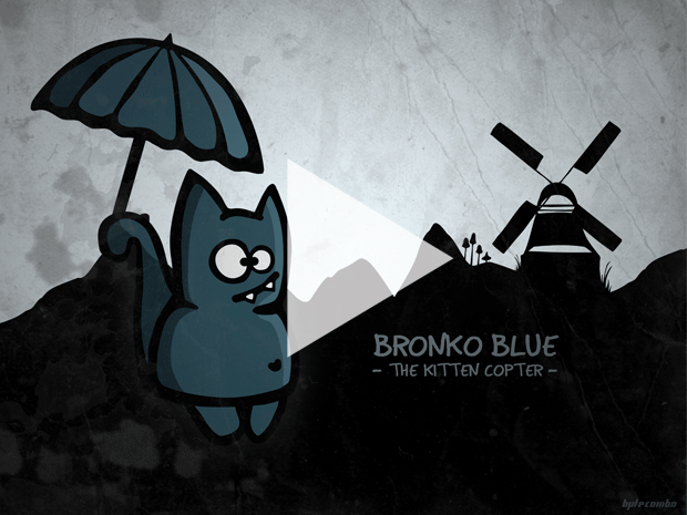 Bronko Blue flash - play now